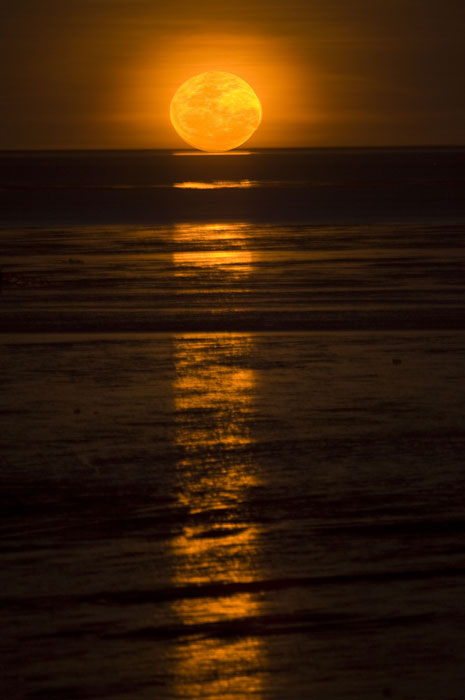 'Staircase to the Moon' at Roebuck Bay in Broome