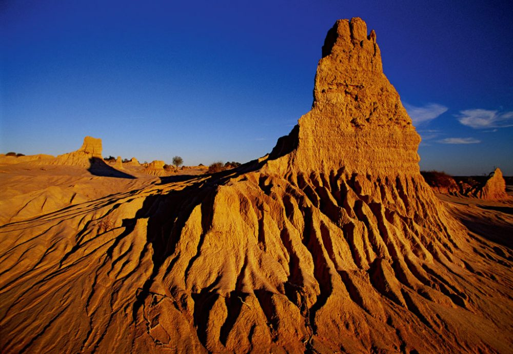 'Walls of China' in Mungo National Park
