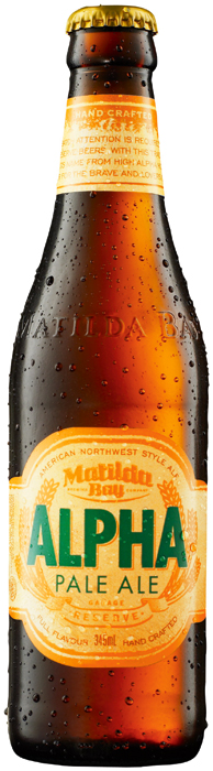 Alpha Pale ale from Matilda Bay Brewing Company