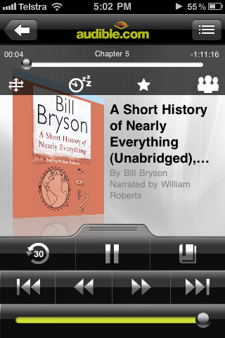 The Audible iPhone App