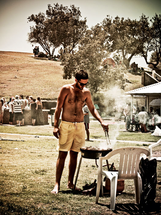Australia Day Tradition: A barbecue somewhere/anywhere outdoors.