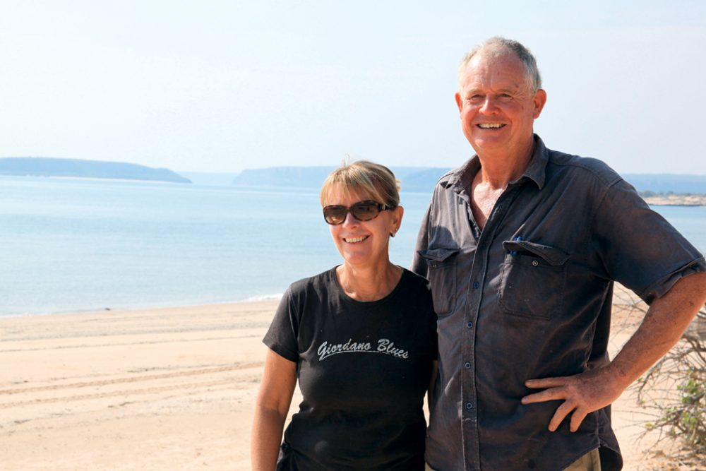 Owners Martin and Kim Pierson-Jones