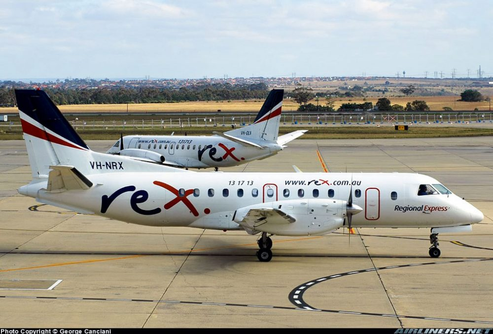 Best Regional Airline 2011: Rex.