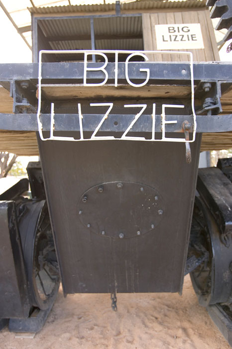The Famous Big Lizzie. Mildura Tourism