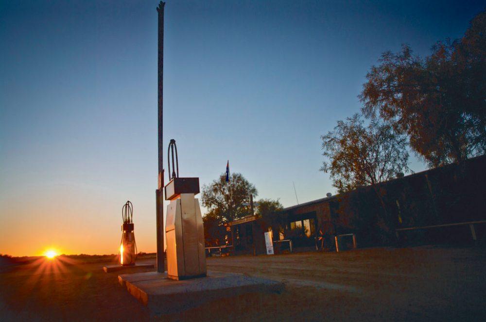 Fuel Stop at Mungerannie