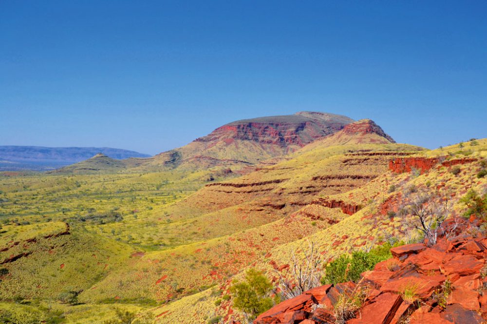 En route to Mt Bruce in Karijini National Park, WA