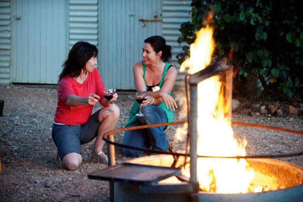 Campfire at Bullara Station