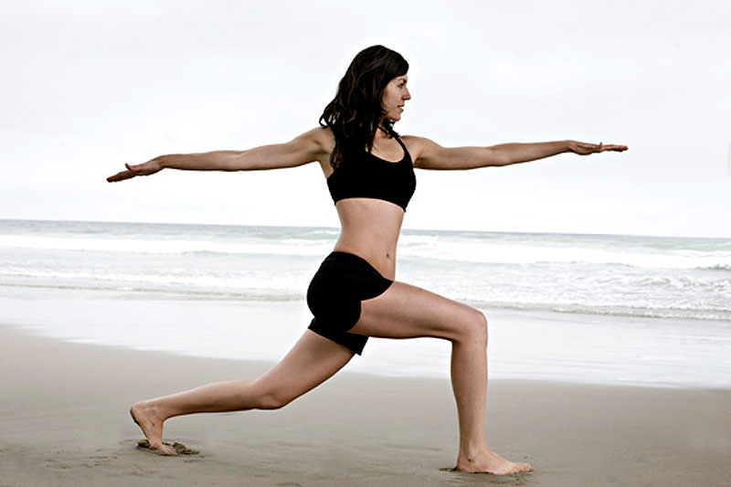 Relax with a yoga class at Byron Bay Yoga Centre.