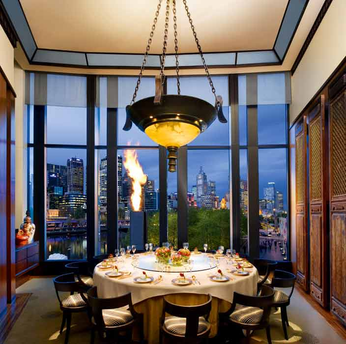 Crown Silks private dining