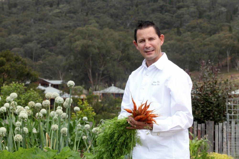 Wolgan Valley's Chef Anston Fivaz