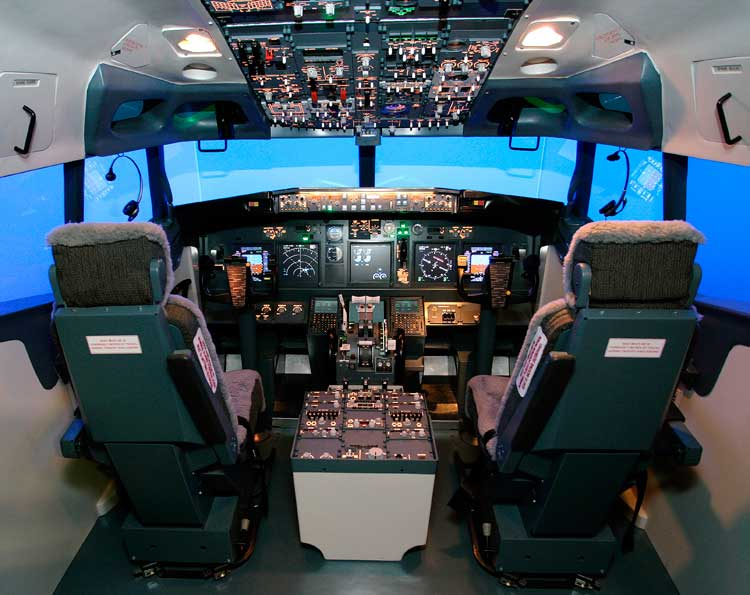 This is the cockpit, or should that be your cockpit