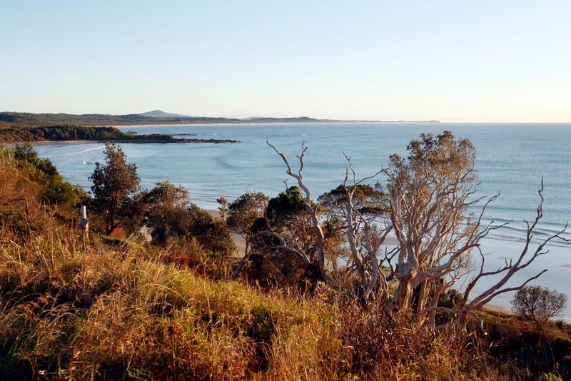 Cliff Views along the Yuraygir Coastal Walk