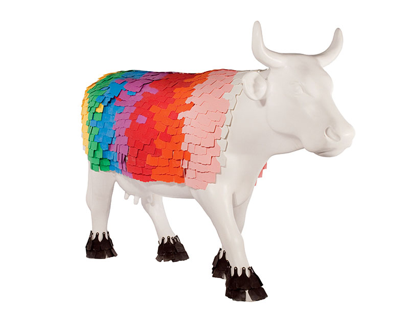 Cow of Many Colours by Mitchell McAuley