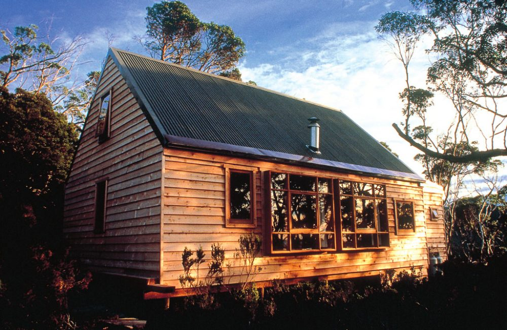 Well-appointed accommodation: Cradle Huts Walk, Tasmania.