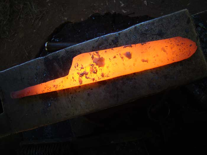 Forging is a time consuming craft