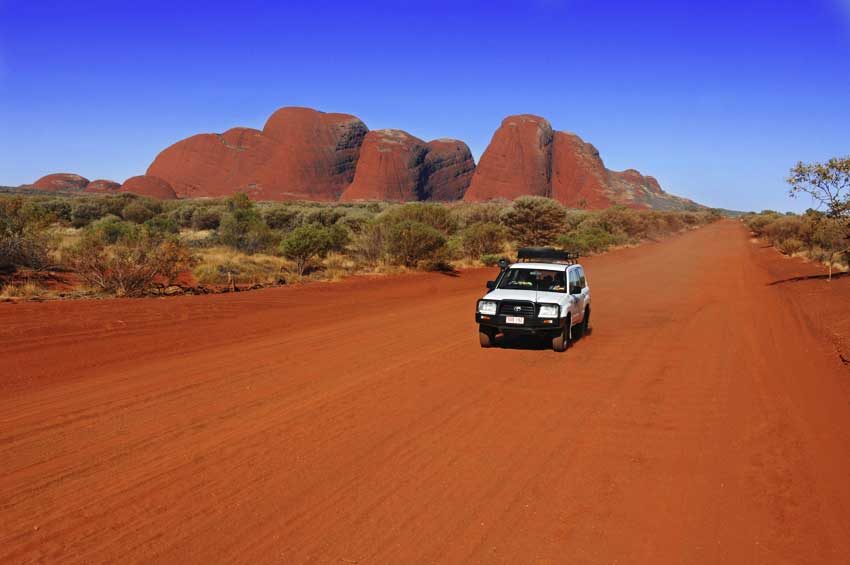 Exploring Uluru and Kata Tjuta is one of the highlights of the Australian Outback