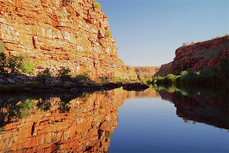 East Kimberley gorge.