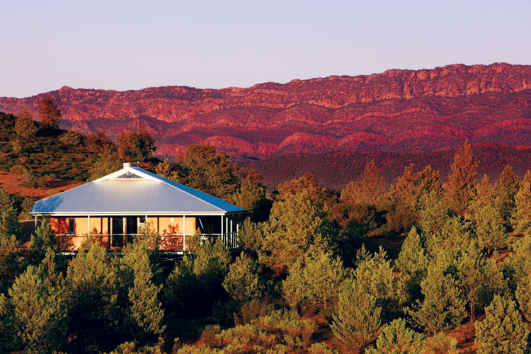 The Eco Villas at Rawnsley Park, our pick of the places to stay in the Flinders Ranges