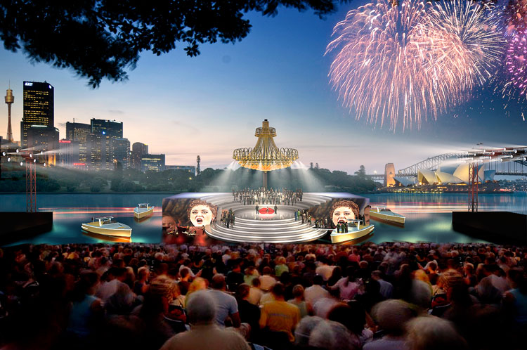 Coming March 2012 Opera on the Harbour