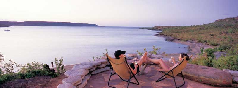 A fine recline: Faraway Bay.