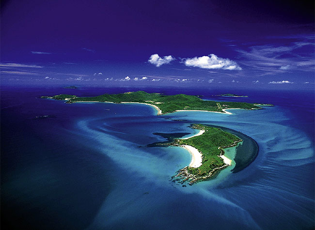 Amazingly, Great Keppel Island was once a sheep station. Image by Tourism Qld