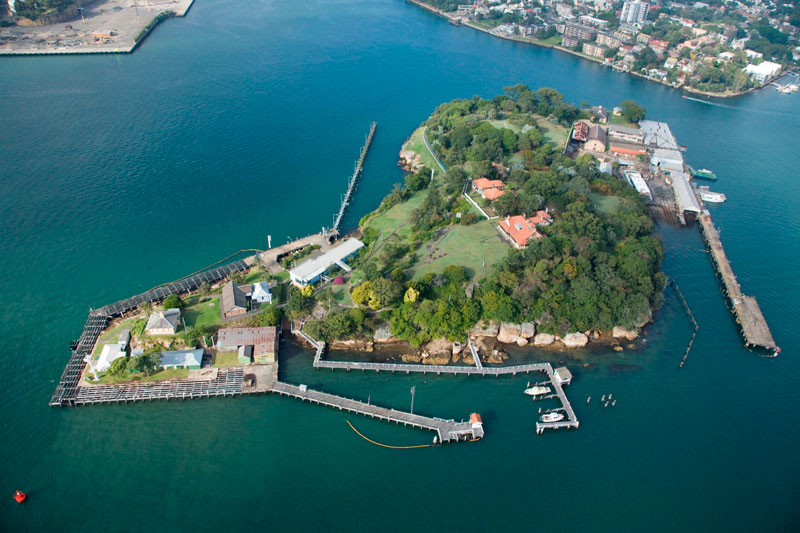 Goat Island will host a series of monthly Sunday events Photo by Simon Cottrell
