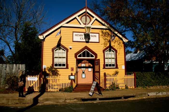 Gulgong Famous for Henry Lawson who grew up in the town (Image Liz Schaffer)