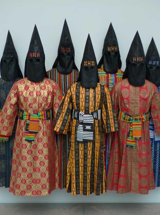 The HHH works is the Black Klu Klux Klan