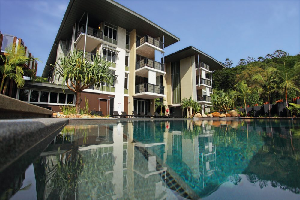 The Resort's Lagoon Pool