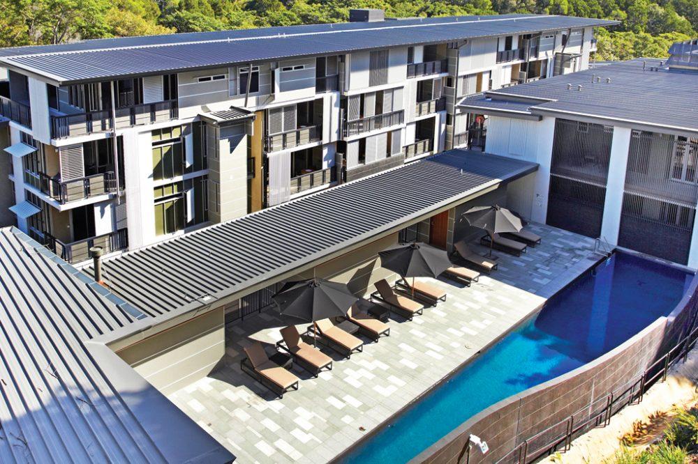 The Resort's Lap Pool