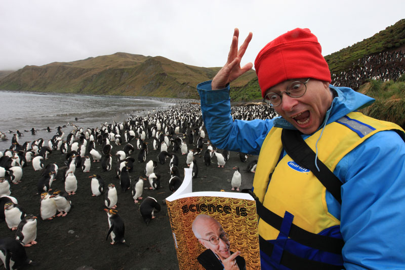 Dr Karl Kruszelnicki will be onboard Orion this December on a very special cruise to Antarctica