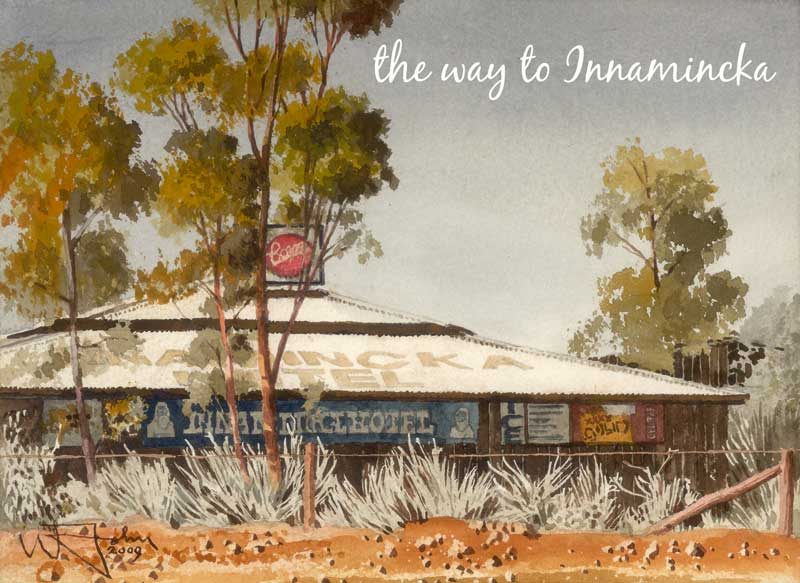 Innamincka Hotel on the