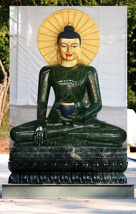 Jade Buddha.