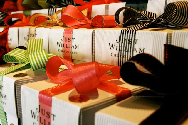 Who wouldn;t want chocolates from Just William?