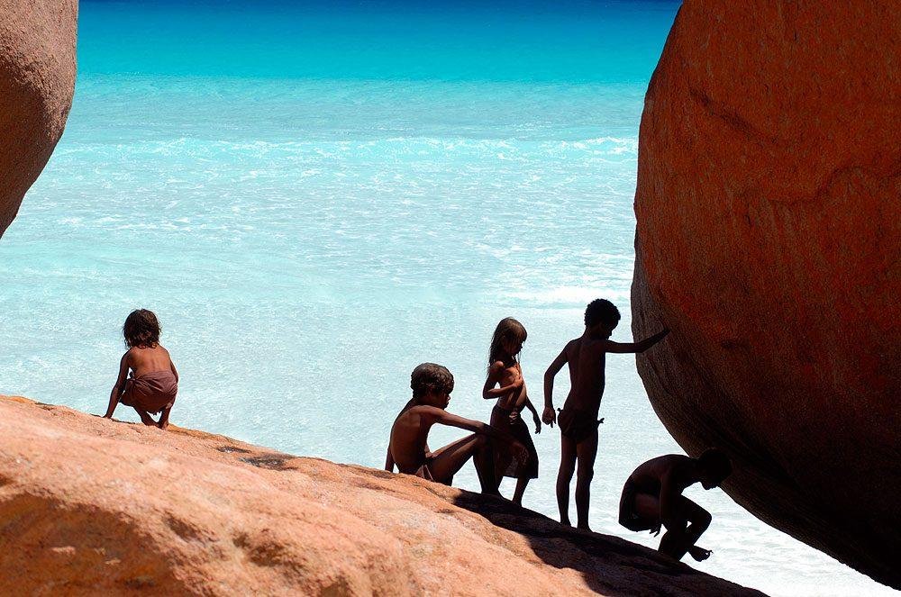 Young members of the Noongar clan still explore the kepa kurl region�s coastline and waterways, just as their ancestors once did. -- Image by Dan Paris