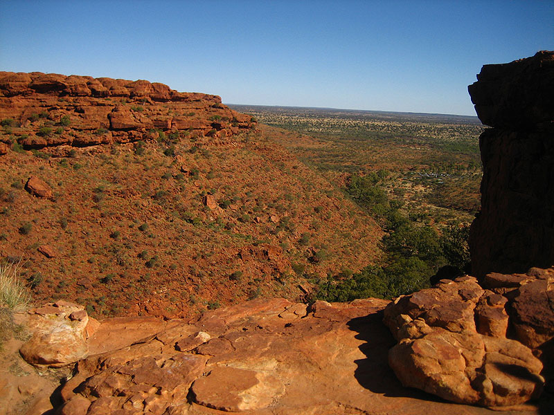 One of the best lookout points in Kings Canyon. Photo by Liz Cameron