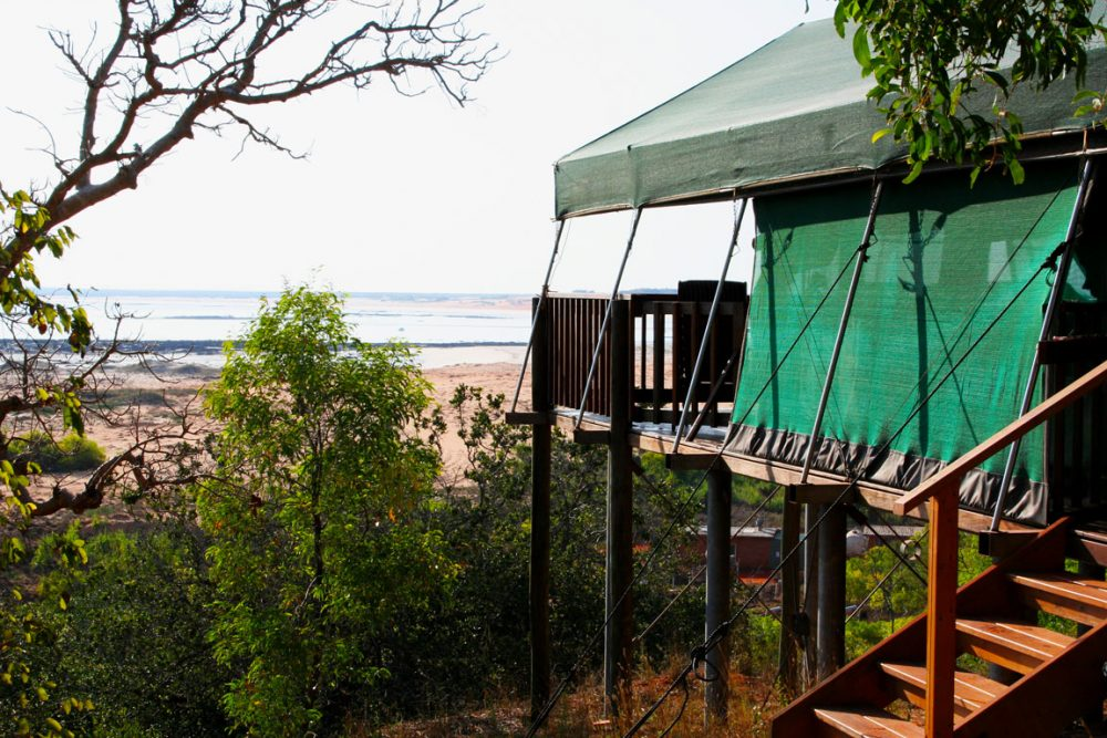 The unparalleled views -- and privacy -- of the luxury safari tents at Kooljaman.