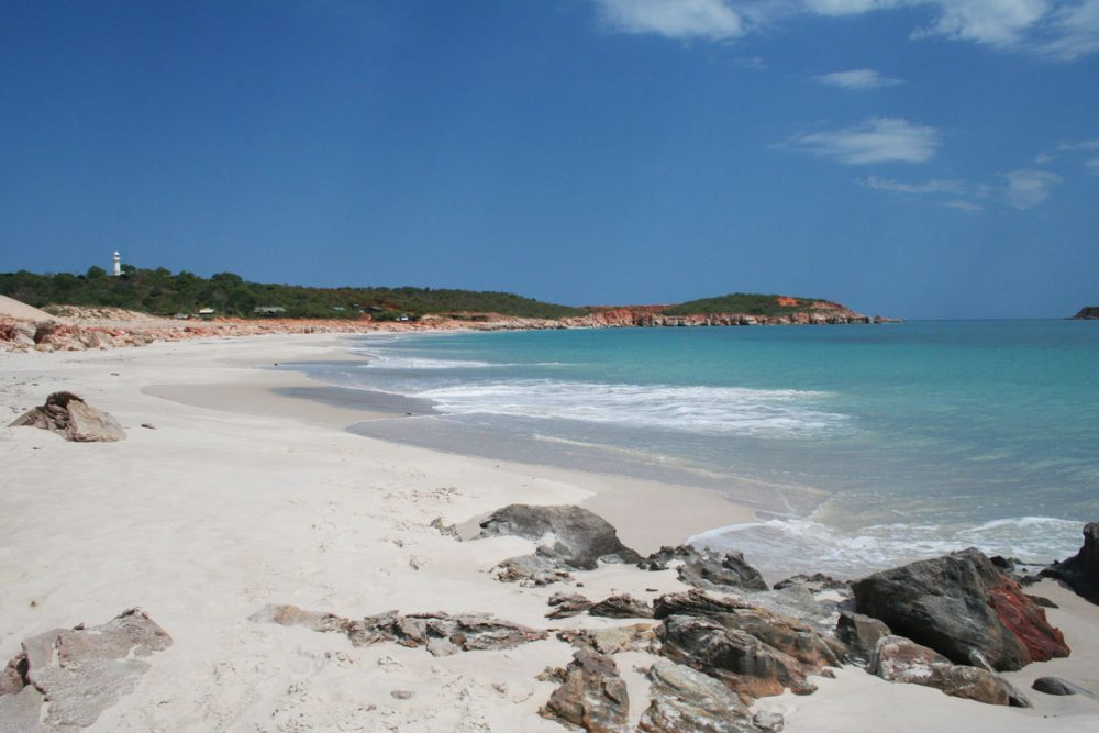 The Cape Levique Swimming Beach