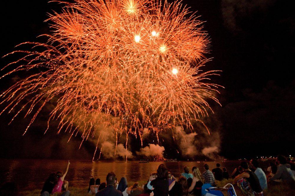 Fireworks at Cairns Festival