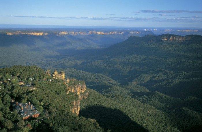 Romantic breaks do not come more picturesque than Lilianfels Blue Mountains Resort & Spa with views like this.