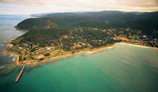 Lorne from the air