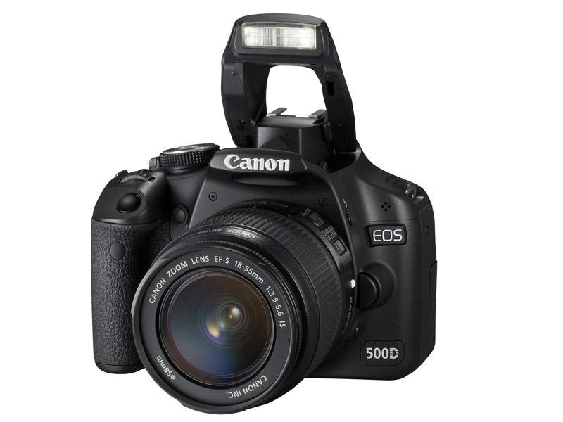 The just announced Canon 500D