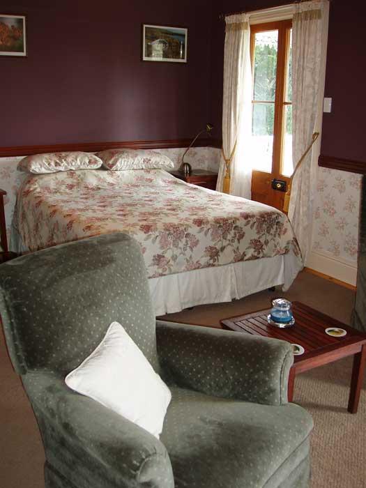 Middleton Manor's Burgundy Room.