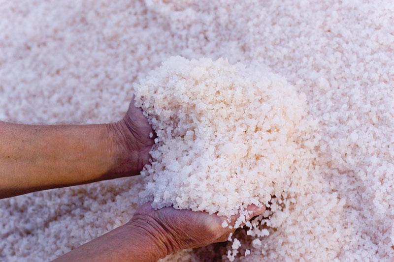 Pink Salt.  Mildura Tourism