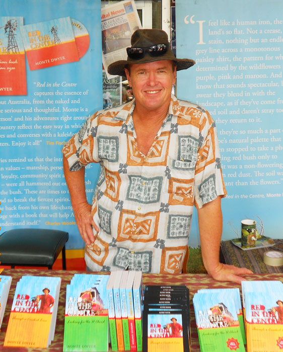 Monte Dwyer - ex-Channel Nine weatherman, still exploring Oz