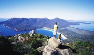Mount Amos, Wineglass Bay Circuit, Tasmania.