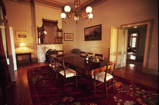 Dining room of Mount Sturgeon