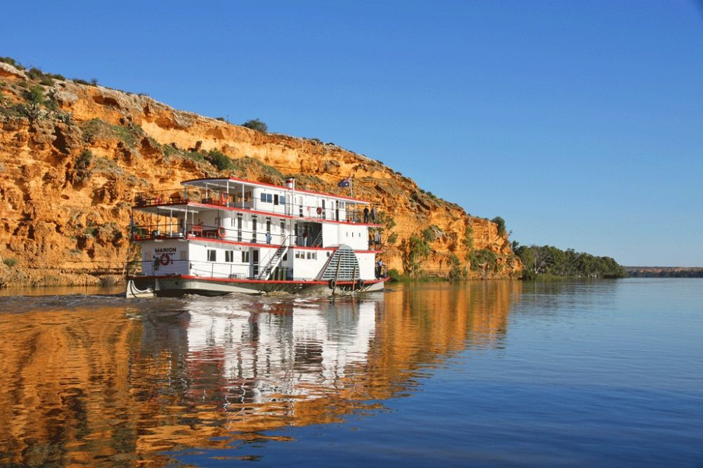 Paddlesteamer, Murray River