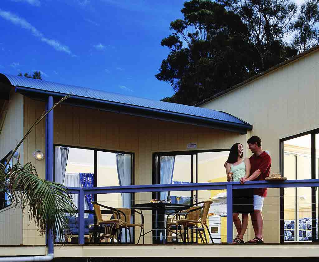 Cabins at Soldiers Point Caravan Park, Port Stephens