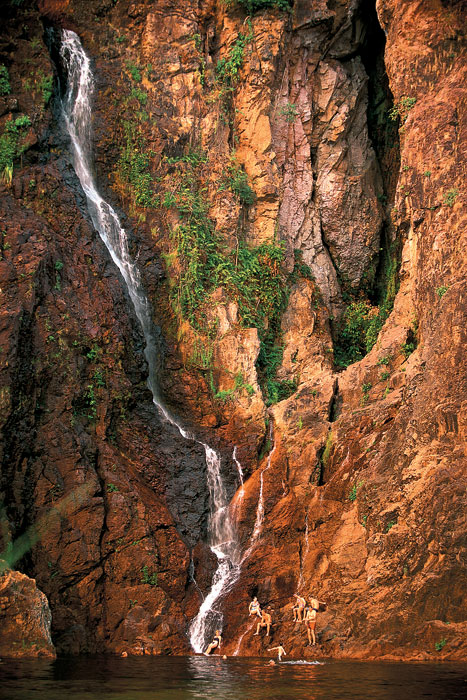 The cooling Oasis of Wangi Falls deep inside Litchfield Park